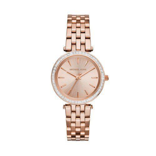 Michael Kors Women's Darci Rose Gold-Tone Watch MK3366 -- You can get more detai...