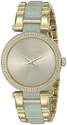 Michael Kors Women's Delray Gold-Tone Watch MK4317 *** Check out this great ...