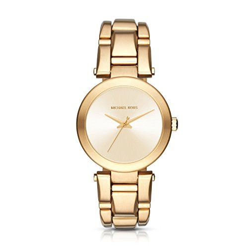 Michael Kors Women's Delray Gold-Tone Watch MK3517 ** To view further for th...