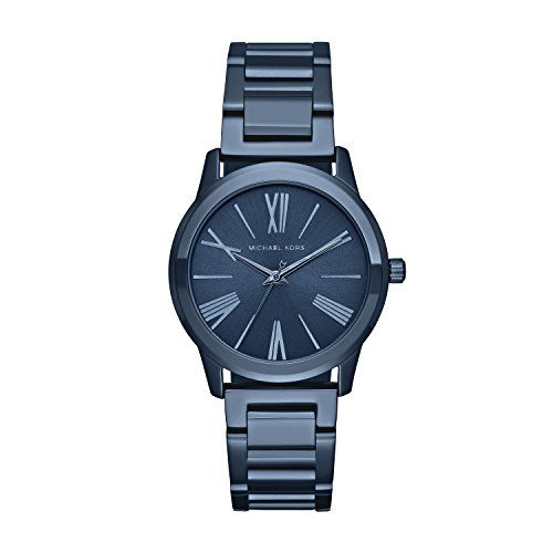 Michael Kors Women's Hartman Blue Watch MK3509 ** Click image for more details. ...