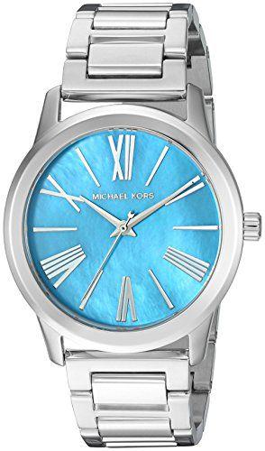 Michael Kors Womens Hartman SilverTone Watch MK3519 * More info could be found a...