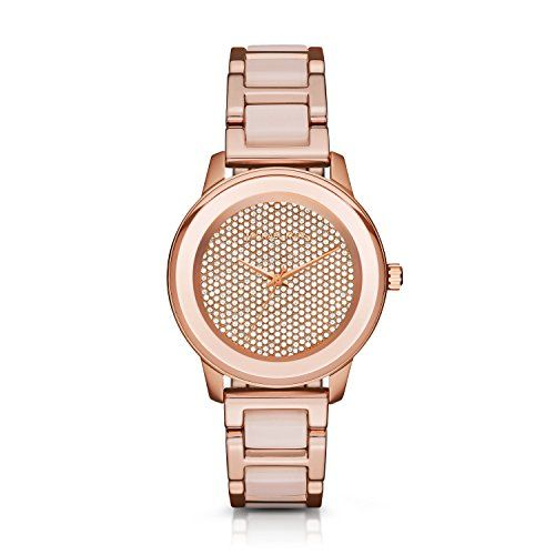 Michael Kors Womens Kinley Rose Gold Watch MK6432 *** Click image for more detai...