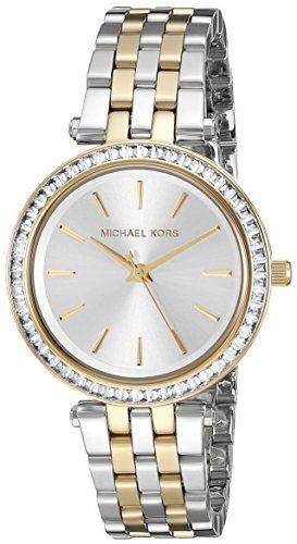 Michael Kors Womens Mini Darci TwoTone Watch MK3405 ** For more information, vis...