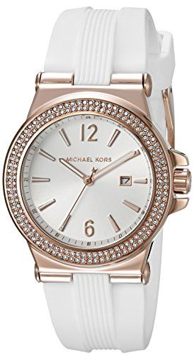 Michael Kors Womens Mini Dylan White Watch MK2491 *** Visit the image link more ...