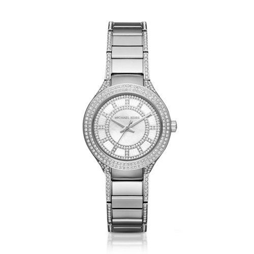 Michael Kors Womens Mini Kerry SilverTone Watch MK3441 *** Be sure to check out ...