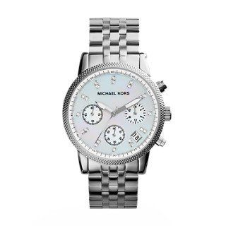 Michael Kors Women's Ritz Silver-Tone Watch MK5020 * Check this awesome product ...