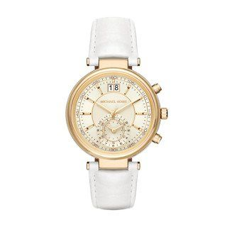 Michael Kors Womens Sawyer White Watch MK2528 * You can find more details by vis...
