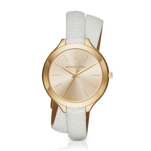 Michael Kors Womens Slim Runway White Watch MK2477 -- Learn more by visiting the...