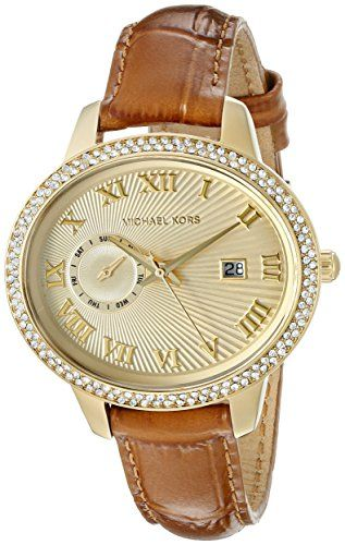 Michael Kors Women's Whitley Brown Watch MK2428 *** Click image to review more d...