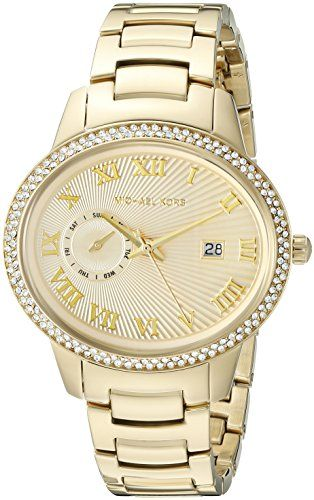 Michael Kors Womens Whitley GoldTone Watch MK6227 * Find out more about the grea...