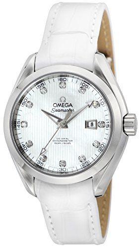 OMEGA Seamaster Aqua Terra white pearl dial Co-Axial automatic winding 231.13.34...