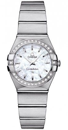 Omega 12315246005001 Constellation Womens Diamond MOP 24MM Watch *** Continue to...