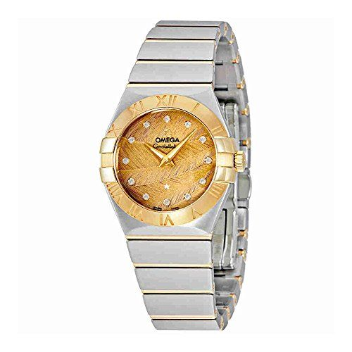 Omega Constellation Champagne Dial Ladies Watch 12320276058003 *** See this grea...