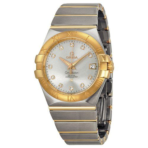 Omega Constellation Chronometer 35mm Automatic Silver Dial Unisex Watch 12320352...