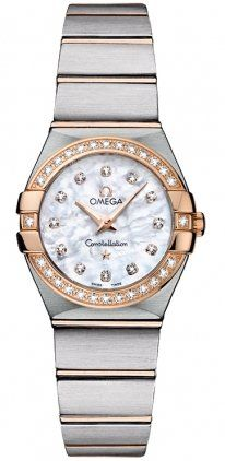 Omega Constellation Mini Diamond Ladies Watch 12325246055001 * You can find more...