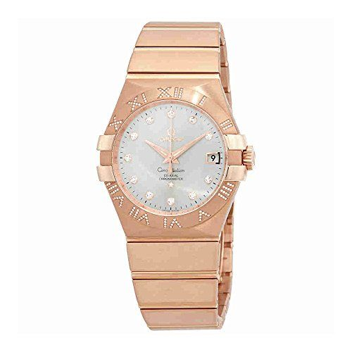 Omega Constellation Silver Dial Automatic Ladies Watch 123.55.35.20.52.003 -- Wa...