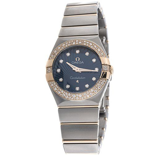 Omega Constellation quartz womens Watch 123.25.27.60.53.001 (Certified Pre-owned...