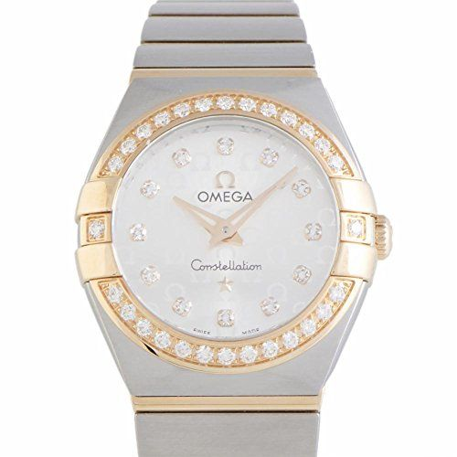 Omega Constellation quartz womens Watch 12325246052001 Certified Preowned -- Rea...