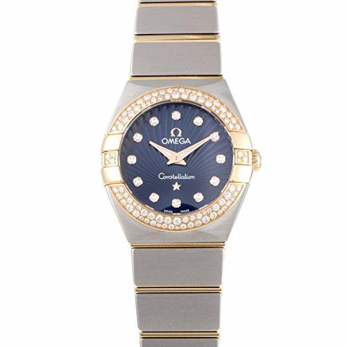 Omega Constellation quartz womens Watch 12325246053001 Certified Preowned * Visi...
