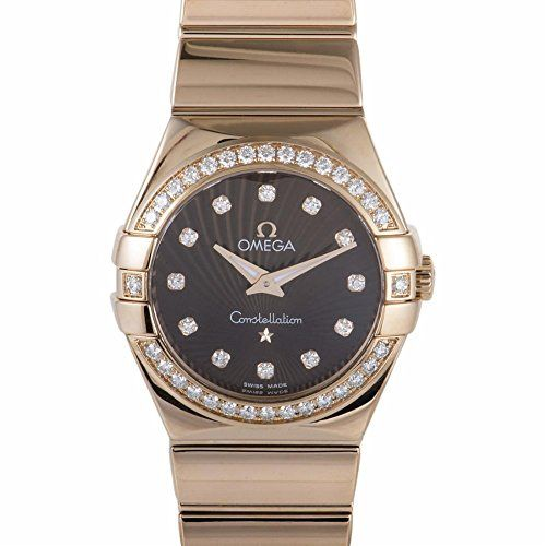 Omega Constellation quartz womens Watch 12355276063002 Certified Preowned * Chec...