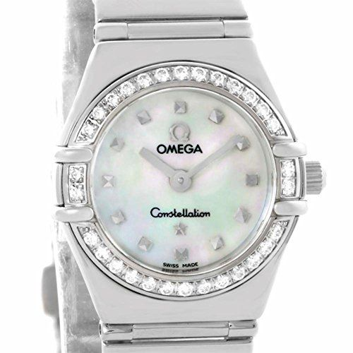 Omega Constellation quartz womens Watch 1465.71.00 (Certified Pre-owned) -- Deta...