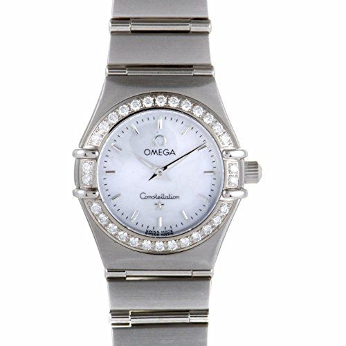 Omega Constellation quartz womens Watch 14667100 Certified Preowned *** More inf...