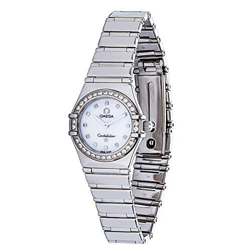 Omega Constellation swiss-quartz mother-of-pearl womens Watch 1465.71 (Certified...