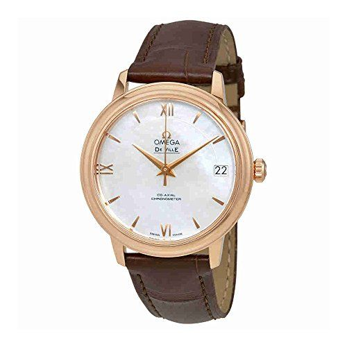 Omega De Ville Automatic Mother of Pearl Dial Ladies Watch 424.53.33.20.05.001 -...