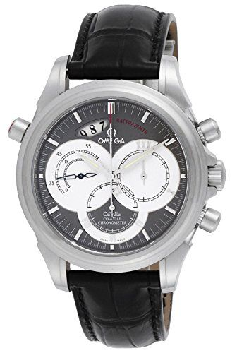 Omega De Ville CoAxial Rattrapante Split Seconds Chrono Watch 4848.40.31 ** Find...