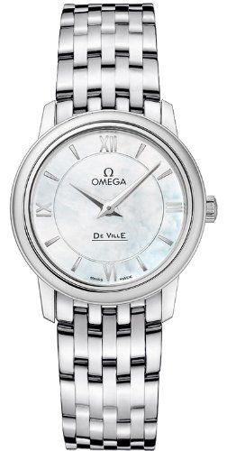 Omega Deville Prestige Quartz Ladies Watch 42410276005001 ** Be sure to check ou...