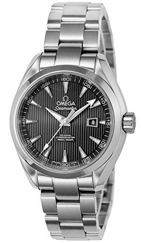 Omega Seamaster Black Dial Ladies Watch 23110342001001 * Want to know more, clic...