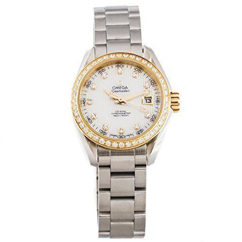 Omega Seamaster automatic-self-wind womens Watch 231.25.30.20.55.004 (Certified ...
