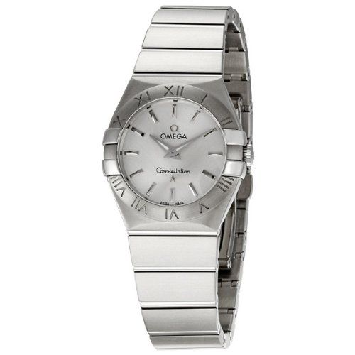 Omega Women's 123.10.27.60.02.001 Constellation Silver Dial Watch ** Check t...