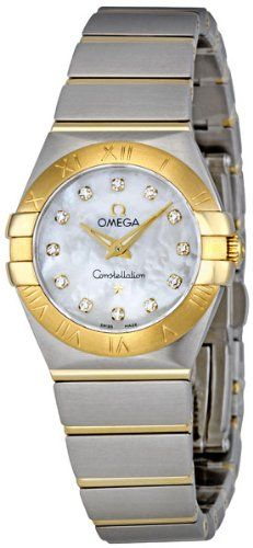 Omega Women's 123.20.24.60.55.002 Mother-Of-Pearl Dial Constellation Watch -...