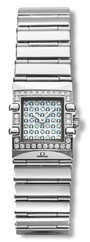 Omega Women's 1539.77.00 Constellation Quadra Quartz Mini Diamond Watch -- T...