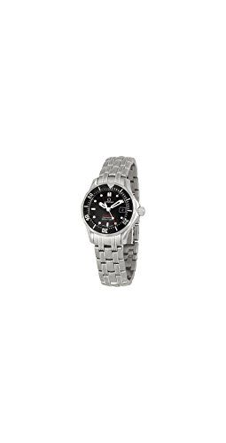 Omega Women's 212.30.28.61.01.001 Seamaster 300M Quartz Black Dial Watch ** ...