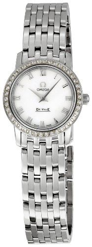 Omega Women's 4575.71 DeVille Mother-Of-Pearl Dial Watch *** Click image to ...