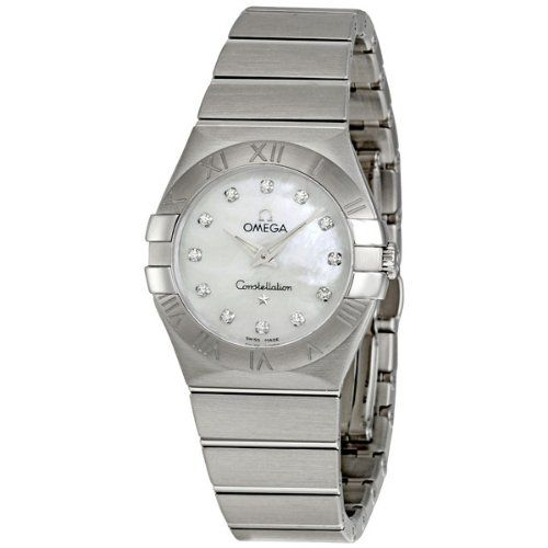 Omega Womens 12310276055001 Constellation MotherOfPearl Dial Watch * To view fur...