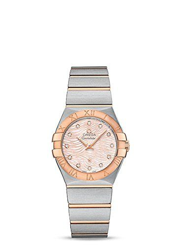 Omega Women's 'Constellation' Swiss Quartz Stainless Steel Dress Wat...