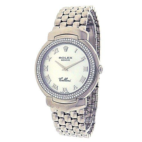 Rolex Cellini analog-quartz womens Watch 6681.9.0222 (Certified Pre-owned) * Che...