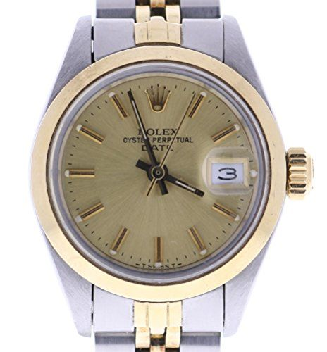 Rolex Date automatic-self-wind womens Watch (Certified Pre-owned) 6916 * Read mo...