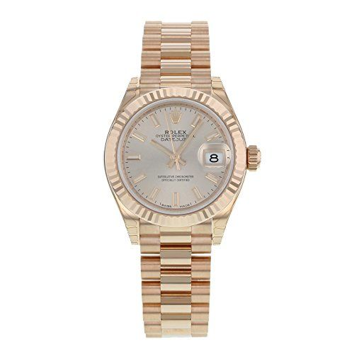 Rolex Datejust 279175 PIP 18K Everose Gold Automatic Ladies Watch * Read more re...