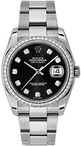 Rolex Datejust 36 Steel 116244 -- Learn more by visiting the image link.