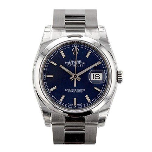 Rolex Datejust 36mm Blue Dial Stainless Steel Watch 116200 ** Find out more abou...