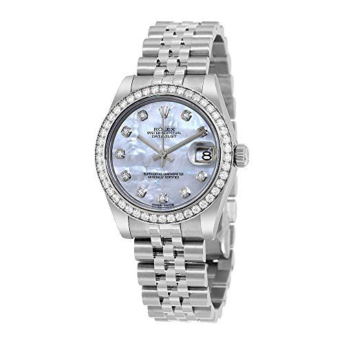 Rolex Datejust Lady 31 Mother of Pearl Dial Stainless Steel Rolex Jubilee Automa...
