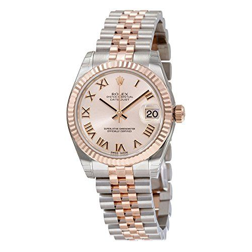 Rolex Datejust Pink Roman Dial Steel and 18kt Pink Gold Ladies Watch 178271PRJ *...