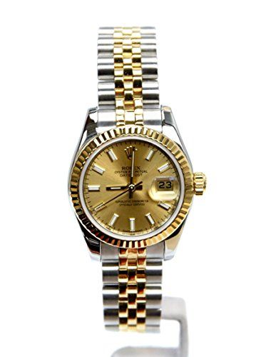 Rolex Datejust automatic-self-wind womens Watch 179173-CSJ (Certified Pre-owned)...