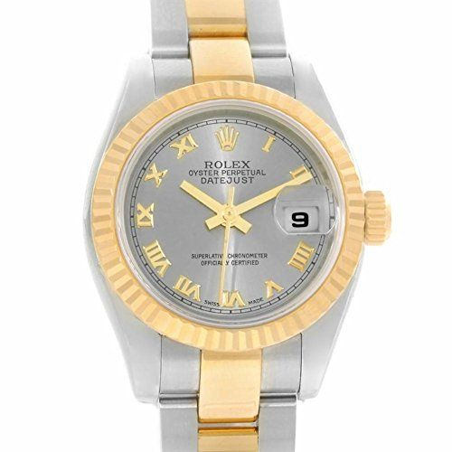 Rolex Datejust automatic-self-wind womens Watch 179173 (Certified Pre-owned) * C...