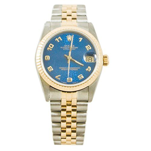Rolex Datejust automatic-self-wind womens Watch 68273 (Certified Pre-owned) * Yo...