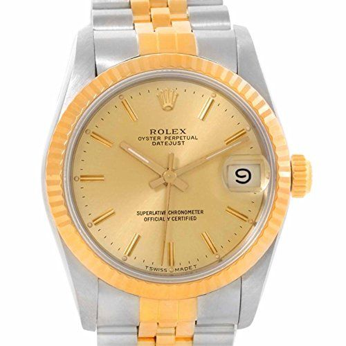 Rolex Datejust automatic-self-wind womens Watch 68273 (Certified Pre-owned) ** T...
